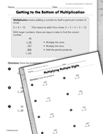 Number and Operations in Base Ten: Multiplication and Division Practice