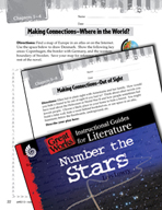 Number the Stars Making Cross-Curricular Connections (Grea