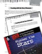 Number the Stars Studying the Story Elements (Great Works Series)