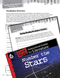 Number the Stars Vocabulary Activities (Great Works Series)