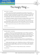 Onset and Rime Awareness: Rhyming Words - The  Hungry Thing