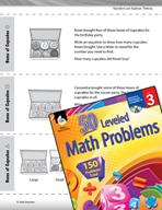 Operations and Algebraic Thinking Leveled Problems: Array Models