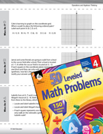 Operations and Algebraic Thinking Leveled Problems: Coordinate Planes