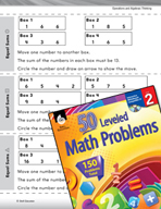 Operations and Algebraic Thinking Leveled Problems: Equal Sums