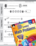Operations and Algebraic Thinking Leveled Problems: Multiplication and Money