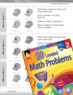 Operations and Algebraic Thinking Leveled Problems: Use Clues to Solve Problems