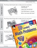 Operations and Algebraic Thinking Leveled Problems: Which Books Were Bought?