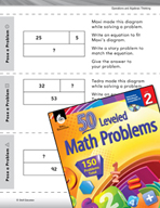 Operations and Algebraic Thinking Leveled Problems: Write an Equation