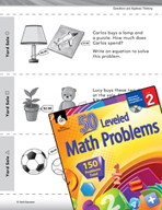 Operations and Algebraic Thinking Leveled Problems: Writin