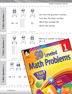 Operations in Base Ten Leveled Problem: Problem Solving - T-Shirt Numbers
