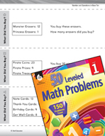 Operations in Base Ten Leveled Problem: Problem Solving - What Did You Buy?