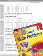 Operations in Base Ten Leveled Problem: Problem Solving - What Is the Number?