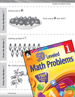Operations in Base Ten Leveled Problem: Subtracting From the Garden