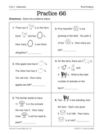 Operations in Base Ten: Word Problems Practice