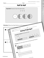 Operations with Fractions: Equivalent Fractions Practice