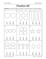 Operations with Fractions: Fractions of a Set Practice