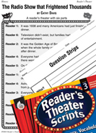 Orson Welles's Radio Show Reader's Theater Script and Lesson