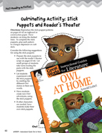 Owl at Home Post-Reading Activities (Great Works Series)