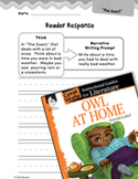 Owl at Home Reader Response Writing Prompts (Great Works Series)