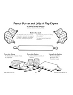 Peanut Butter and Jelly: A Play Rhyme - Peanut Butter and Jelly Sandwich Recipe