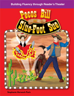 Pecos Bill and Slue-Foot Sue - Reader's Theater Script and Fluency Lesson