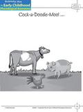 Phoneme Awareness: Blending Phonemes - Cock-a-Doodle-Moo!