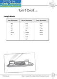 Phoneme Awareness: Blending Phonemes - Turn It Over!