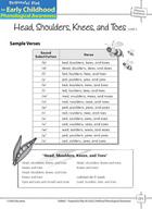 Phoneme Awareness: Initial Phonemes - Head, Shoulders, Knees, and Toes