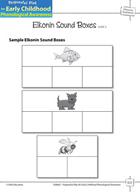 Phoneme Awareness: Segmenting Words into Phonemes - Elkonin Sound Boxes