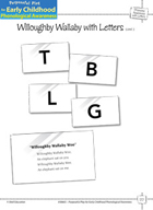 Phoneme Awareness with Letters: Matching Phonemes to Letters - Willoughby Wallaby