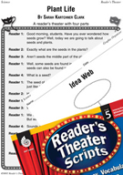 Plant Life Reader's Theater Script and Lesson