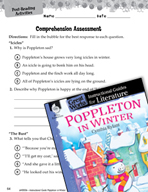 Poppleton in Winter Comprehension Assessment (Great Works Series)