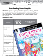 Poppleton in Winter Post-Reading Activities (Great Works Series)