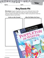 Poppleton in Winter Studying the Story Elements (Great Works Series)