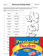 Presidential Puzzlers - Math Critical Thinking Activities (Set 2)