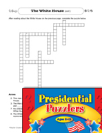 Presidential Puzzlers - Reading Critical Thinking Activities (Set 1)