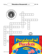 Presidential Puzzlers - Reading Critical Thinking Activities (Set 2)