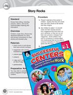 Prewriting Idea - Story Rocks Literacy Center