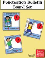Punctuation Bulletin Board Set by Karen's Kids