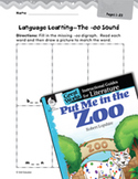 Put Me in the Zoo Language Learning Activities (Great Works Series)