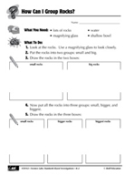 Quick Science Lab: How Can I Group Rocks?