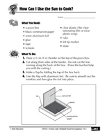 Quick Science Lab: How Can I Use the Sun to Cook?
