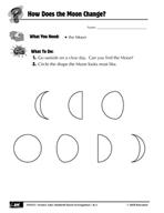 Quick Science Lab: How Does the Moon Change?