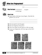 Quick Science Lab: What Are Fingerprints?
