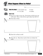 Quick Science Lab: What Happens When Ice Melts?