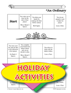 Ramadan Activities -  An Ordinary Day Game Instructions and Gameboard
