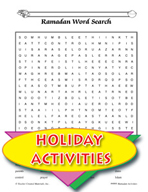 Ramadan Activities - Comprehension Questions and Other Themed Activities