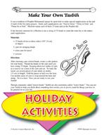 Ramadan Activitiy Calendar and Other Themed Activities