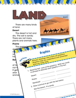 Read and Succeed Comprehension Level 1: Graphics Passages and Questions