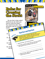 Read and Succeed Comprehension Level 1: Typeface and Captions Passages and Questions
